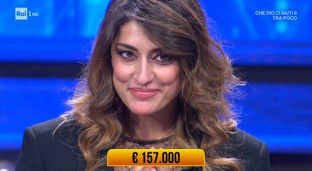 I soliti ignoti, Elisa Isoardi vince 157mila euro e li dona alla ricerca dello Spallanzani