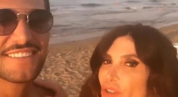 Carmen Di Pietro col fidanzato Matteo (Instagram)