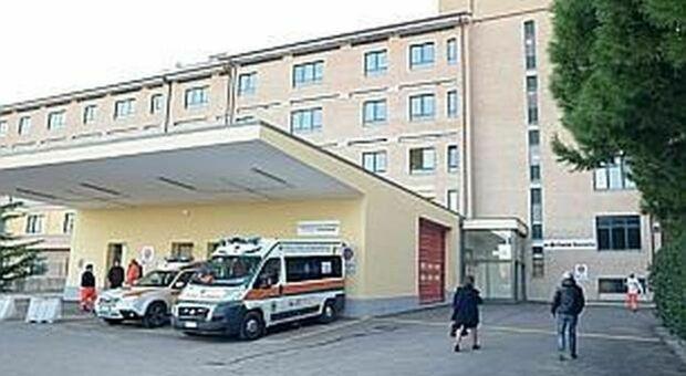Il pronto soccorso dell'ospedale di Civitanova