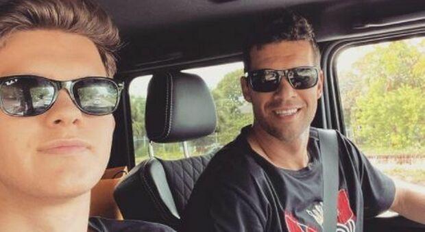 Ballack, morto il figlio Emilio (18 anni) in un incidente con il quad in Portogallo