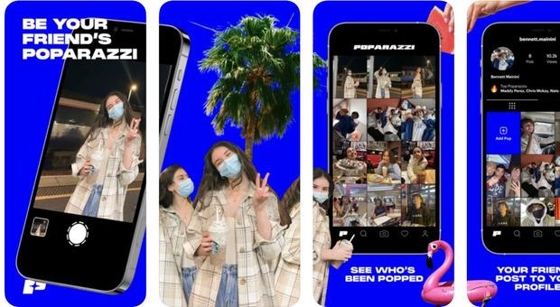 """Poparazzi, il nuovo social """"al contrario"""": il tuo profilo solo con le foto che ti scattano gli altri"""