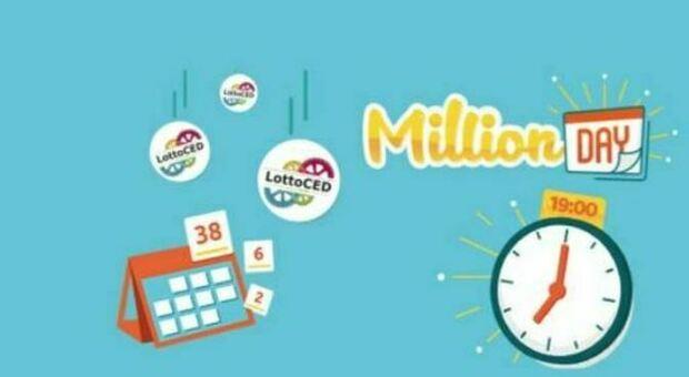 Million Day, l'estrazione in diretta dei numeri vincenti del 30 maggio 2021