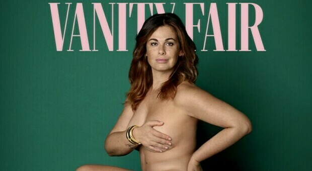 Vanessa Incontrada nuda in copertina