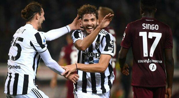 Torino-Juventus 0-1, Locatelli all'86' regala il derby della Mole ai bianconeri