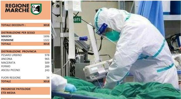 """Coronavirus, Marche a zero morti per il terzo giorno di fila e """"solo"""" 18 ricoverati in terapia intensiva"""