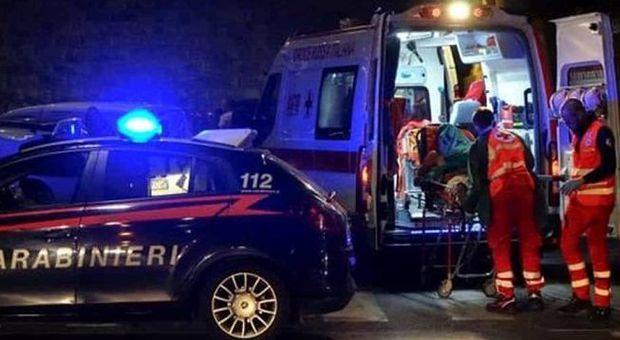 Cupra Marittima, in preda al raptus distrugge la casa con papà all'interno: portato all'ospedale