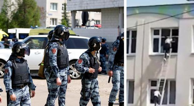 Russia, sparatoria in una scuola a Kazan: 11 morti tra bambini e professori. Due killer, presi ostaggi