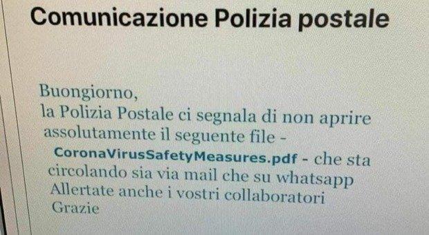 Covid, attenzione al virus informatico: sembra un file in PDF ma è un rischio per i vostri dispositivi