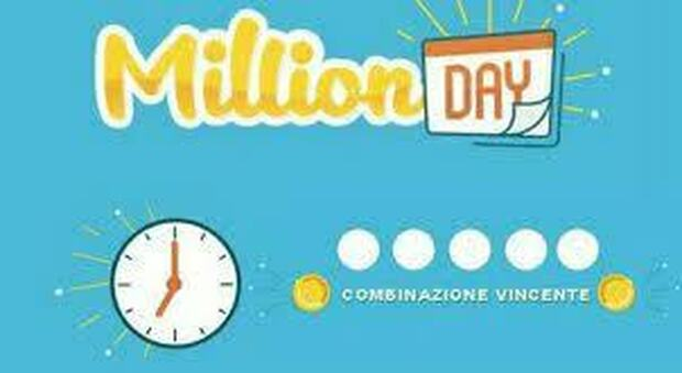 Million Day, i numeri vincenti dell'estrazione di oggi 6 maggio 2021