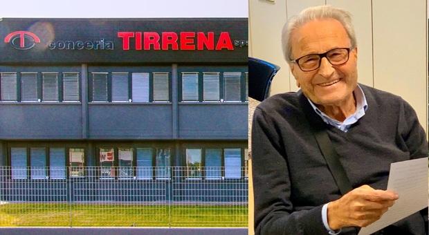 Fermo, Romano Giordani compie 90 anni: regalo in busta paga a tutti i dipendenti della Conceria Tirrena