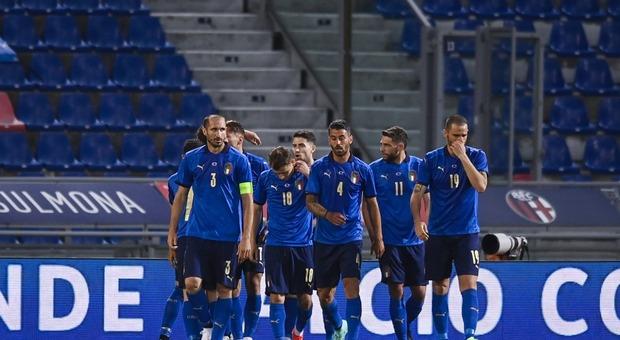 Italia-Repubblica Ceca 4-0: la squadra di Mancini vince e si diverte. Azzurri pronti per l'Europeo