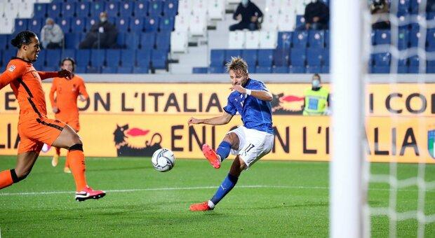Italia-Olanda 1-1: Pellegrini non basta, azzurri secondi nel girone