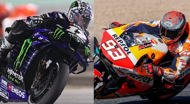 Moto Gp, super Marquez nelle Libere 1 in Portogallo: terzo dietro a Vinales e Rins