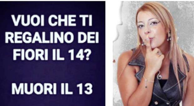 Cantante uccisa dal marito, l'ultimo post di Piera su Fb: «Vuoi dei fiori a San Valentino? Muori il 13»