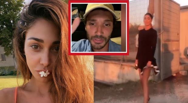 Belen Rodriguez punge Stefano De Martino: il ballerino preso in giro in un video su Instagram