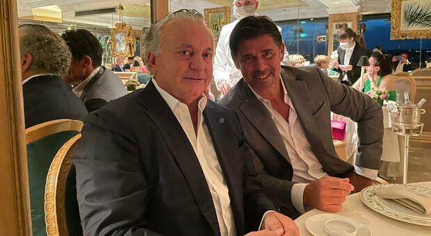 Massimo Pulcinelli e Andrea Sottil a Roma