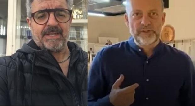 Mauro Uliassi e Moreno Cedroni