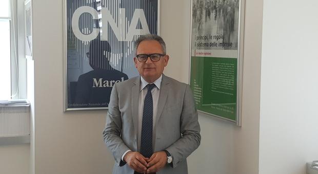 Otello Gregorini segretario Cna Marche