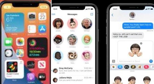 Apple, tutte le novità di iOS 14: dai widget alle nuove funzioni per i messaggi