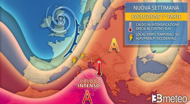 Temperature fino a 40° e afa da togliere il respiro: in arrivo altri giorni di caldo africano. Ecco quando e dove