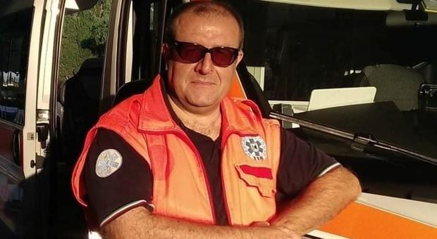 Giorgio Scrofani, autista soccorritore in servizio presso la postazione del 118 di Calcinelli