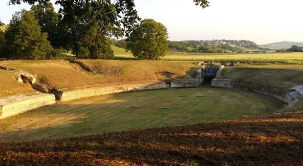 L'anfiteatro romano di Suasa antica