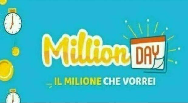 Million Day, l'estrazione dei cinque numeri vincenti di oggi lunedì 23 agosto 2021