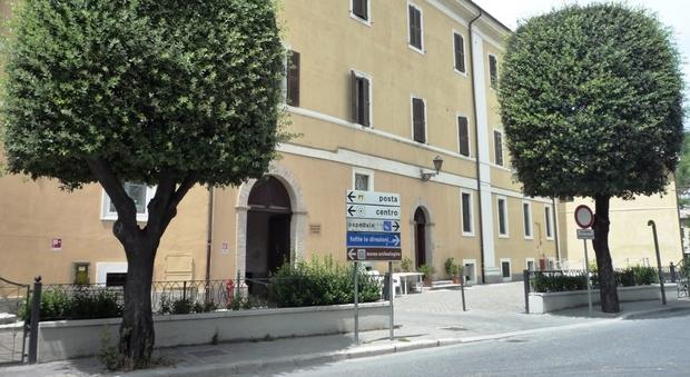 La casa di riposo Lazzarelli a San Severino Marche