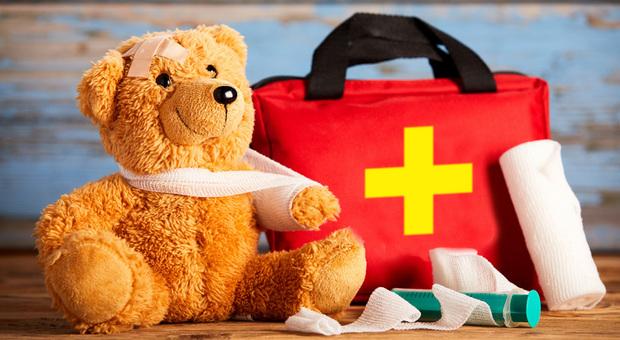 Il kit per il pronto soccorso in casa