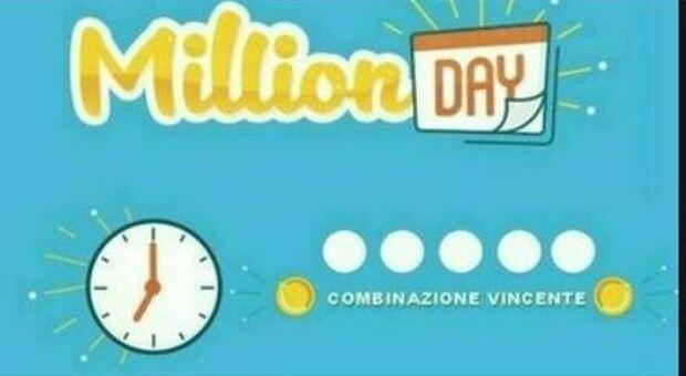 Million Day, appuntamento alle ore 19 per l'estrazione di oggi