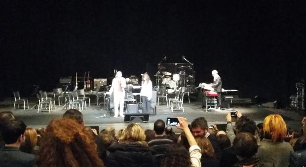 Franco Battiato e Alice alle Muse di Ancona