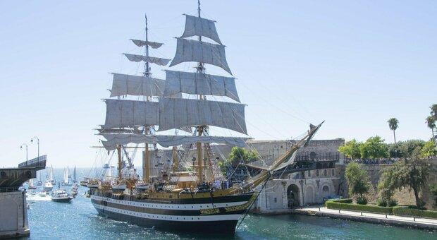 Amerigo Vespucci, compleanno per il veliero più bello del mondo