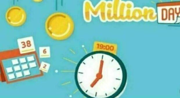 Million Day, l'estrazione dei numeri vincenti del 31 luglio 2021