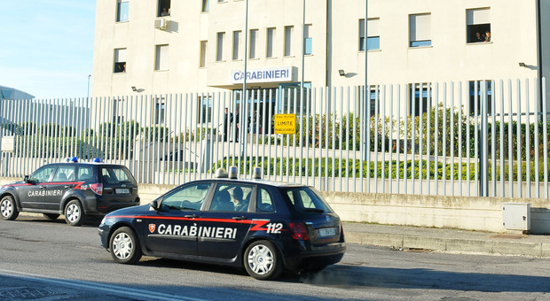 La caserma dei carabinieri