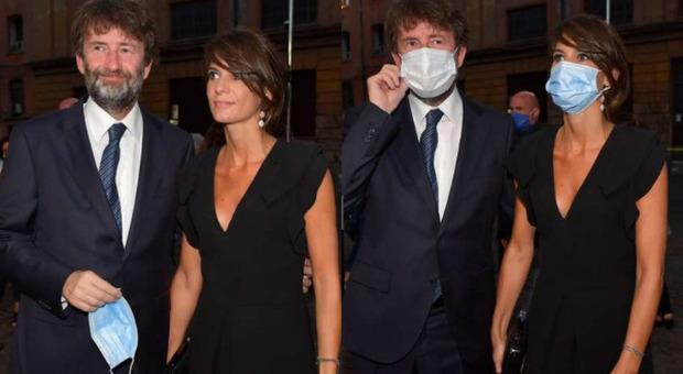 Dario Franceschini e la compagna Michela Di Biase (foto Luciano Di Bacco per Dagospia)