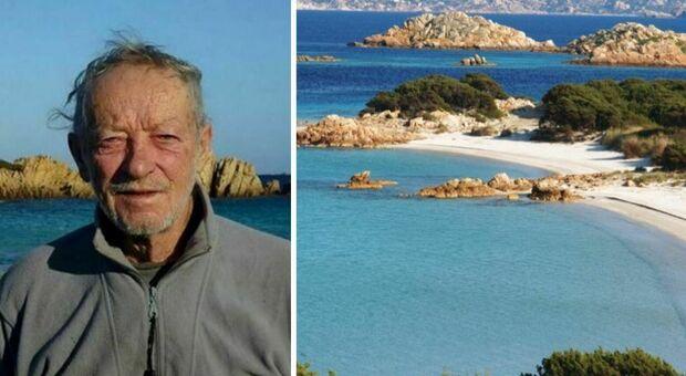 Sardegna, l'eremita di Budelli lascia l'isola dopo 32 anni: «Mi sono stufato»