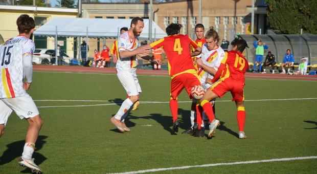Alessandro Sbaffo durante Recanatese-Giulianova terminata 3-2