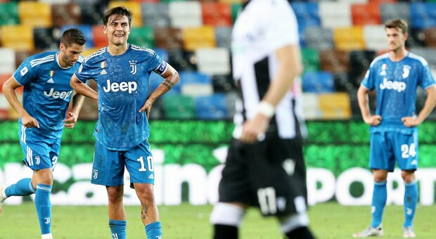 Delusione Juventus: crolla a Udine 2-1 e rimanda la festa scudetto