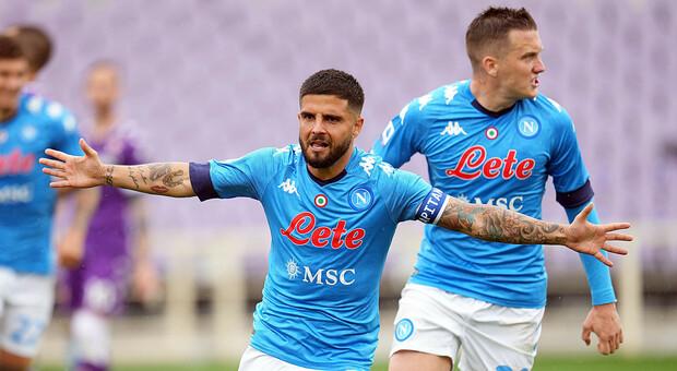Serie A, prova di forza del Napoli a Firenze: decidono Insigne e Zielinski nella ripresa
