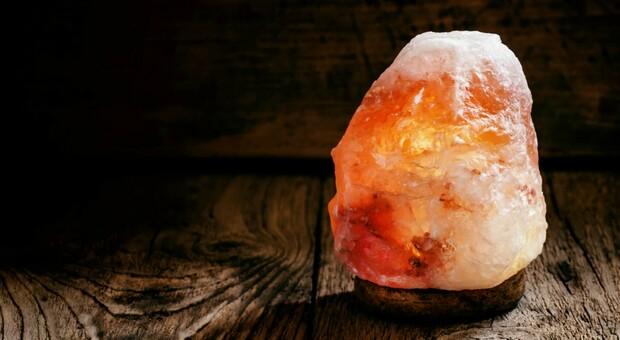 Una lampada di sale