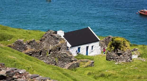 Great Blasket Island - Alloggi (foto di Turismo Irlandese)