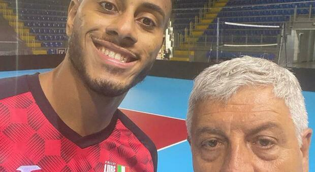 Il brasiliano Ricardo Lucarelli e Giuseppe Cormio nella foto postata dal dg su Instagram