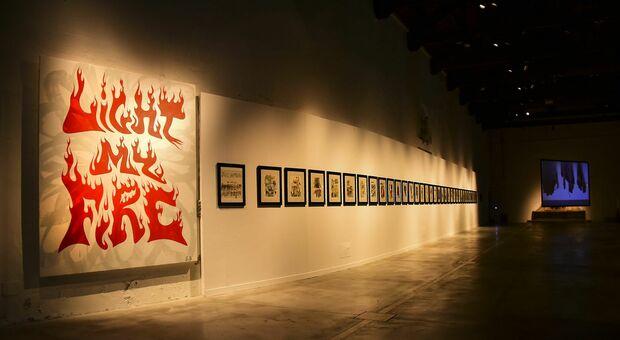 La mostra dedicata a Dante in corso a Pesaro