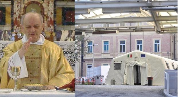 Mondolfo, don Aldemiro in Rianimazione per il Covid: la comunità in ansia prega per lui