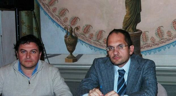 Claudio Travanti e Guido Castelli
