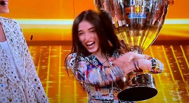 Giulia Stabile, 19 anni, vincitrice della ventesima edizione di Amici