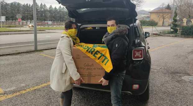 Coldiretti Marche, la solidarietà non si ferma: oltre 22mila chili di cibo già consegnati alle famiglie bisognose