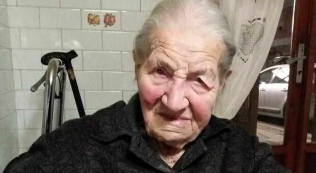 Ida Piagnerelli aveva 106 anni