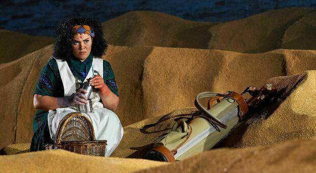 """Maria Teresa Leva in """"Aida"""" allo Sferisterio di Macerata"""