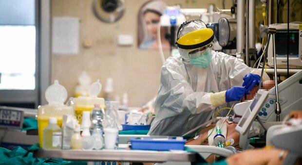 Un paziente ricoverato in terapia intensiva